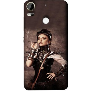 FUSON Designer Back Case Cover For HTC Desire 10 Pro (Mad Men Beauty Moments Betty Draper Smoking )