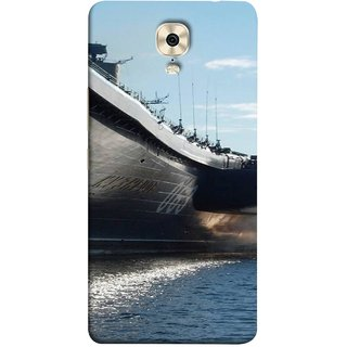 FUSON Designer Back Case Cover For Gionee M6 Plus (Indian Submarine Shoots Ship With Missile Training )