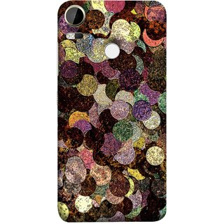 FUSON Designer Back Case Cover For HTC Desire 10 Pro (Coins Pennies Money Currency Cash Finance Banking)