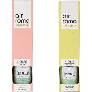 Airroma Mogra Magic and Lemon Grass Home Air Freshener