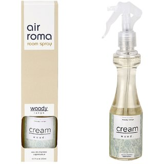 Airroma Cream Wood Home Air Freshener
