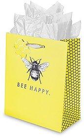 True Marketplace Bee Happy Medium Gift Bag