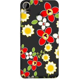 FUSON Designer Back Case Cover For HTC Desire 10 Pro (Floral Patterns Digital Textiles Florals Design Patterns)