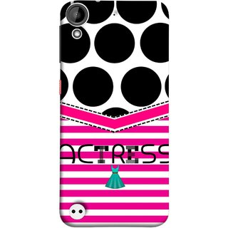 FUSON Designer Back Case Cover For HTC Desire 530 (Beautufil Actress Movies Bollywood Nice Pink Design Paper)