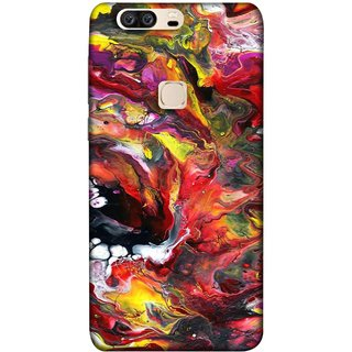 FUSON Designer Back Case Cover For Huawei Honor V8 (Art Gallery Style Wallpaper Wow Perfect Wall Paint)