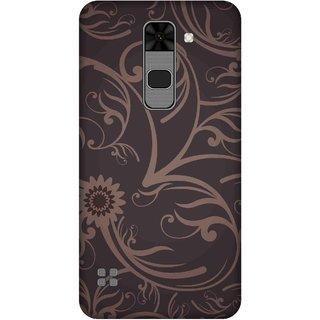 Print Opera Hard Plastic Designer Printed Phone Cover for  Lg Stylus 2 Floral black