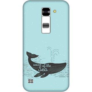 Print Opera Hard Plastic Designer Printed Phone Cover for  Lg K7 Voice of the sea