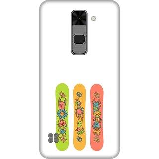Print Opera Hard Plastic Designer Printed Phone Cover for  Lg Stylus 2 Artistic cartoons