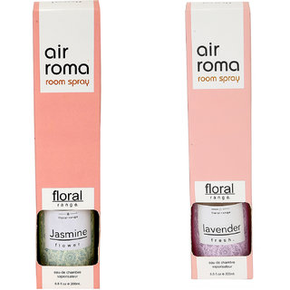 Airroma Lavender Fresh and Jasmine Flower Home Air Freshener