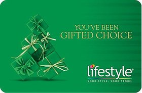 Lifestyle Instant gift card Rs 2000