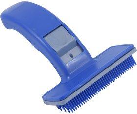 W9 Dog Plastic Slicker Brush With Press Key -Small
