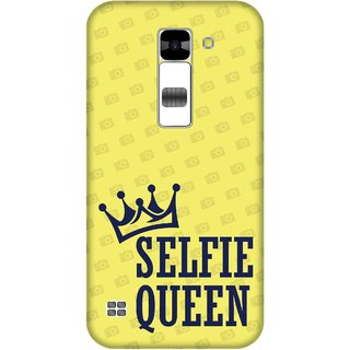 Print Opera Hard Plastic Designer Printed Phone Cover for  Lg K7 Selfie queen