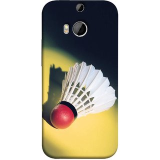 FUSON Designer Back Case Cover For HTC One M8 :: HTC M8 :: HTC One M8 Eye :: HTC One M8 Dual Sim :: HTC One M8s (Isolated On Light Yellow Game Gold Match Winner Loser )