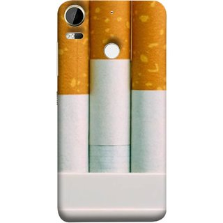 FUSON Designer Back Case Cover For HTC Desire 10 Pro (Pack Of Cigarettes With Cigarettes Sticking Out )