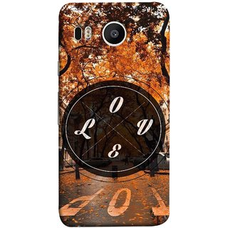 FUSON Designer Back Case Cover For LG Nexus 5X :: LG Google Nexus 5X New (Love Everywhere Stay Long Life Always Road Lovers )