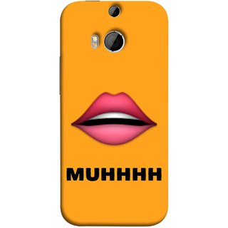 FUSON Designer Back Case Cover For HTC One M9 Plus :: HTC One M9+ :: HTC One M9+ Supreme Camera (Red Lips Pinky Flying Kisses Girl Lovers Couples Hot)
