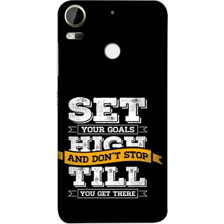 FUSON Designer Back Case Cover For HTC Desire 10 Pro (Till You Get There Dream Big And Achieve Big )