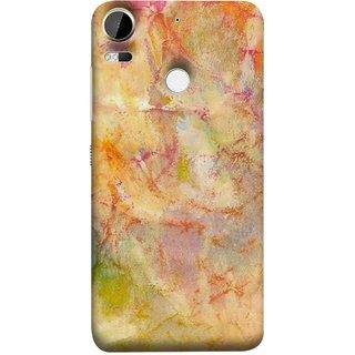 FUSON Designer Back Case Cover For HTC Desire 10 Pro (Colors Yellow Light Bright Paint Wallpaper Design )