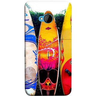 FUSON Designer Back Case Cover For HTC M7 :: HTC One M7 (In Garden Standing Nice Design Ocean Games )