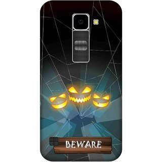 Print Opera Hard Plastic Designer Printed Phone Cover for Lg K10 Beware with horror background