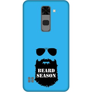 Print Opera Hard Plastic Designer Printed Phone Cover for  Lg Stylus 2 Beard season
