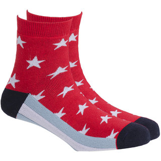 Soxytoes Sport Stars Ankle Length Men's Cotton Socks 1 Pair