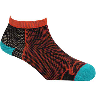 Soxytoes Geometric Liner Length Unisex Dry Fit Nylon Socks 1 Pair