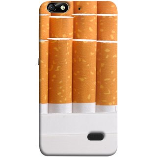 FUSON Designer Back Case Cover For Huawei Honor 4C :: Huawei G Play Mini (Cigarettes Case White Tobacco Foreign Lighter Light)