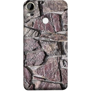 FUSON Designer Back Case Cover For HTC Desire 10 Pro (Sandstone Bricks Of Irregular Shapes Slotting Together )
