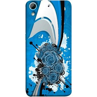 FUSON Designer Back Case Cover For HTC Desire 728 Dual Sim :: HTC Desire 728G Dual Sim (Colour Canvas For Hall Bedroom Painting Intresting Lot)