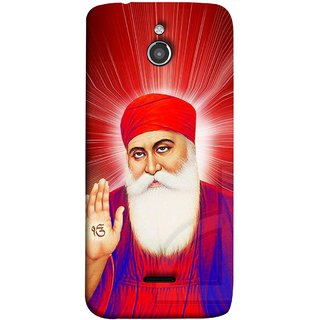 FUSON Designer Back Case Cover For InFocus M2 (Guruji Beautiful Frame God His Mission Blesses)
