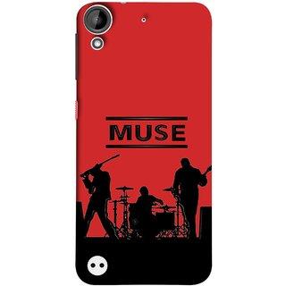 FUSON Designer Back Case Cover For HTC Desire 530 (Dancers Singers Instruments Piano Musical Concert)