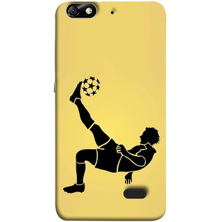 FUSON Designer Back Case Cover For Huawei Honor 4C :: Huawei G Play Mini (Uefa Champions League Starball Player Fifa )