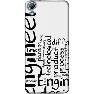 FUSON Designer Back Case Cover For HTC Desire 628 :: HTC Desire 628 Dual Sim  (Engineer Process Corporate Jobs Technical Solutions )