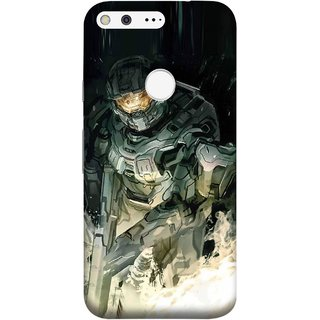 FUSON Designer Back Case Cover For Google Pixel (Army War Secret Missions Country Saver Fighter)