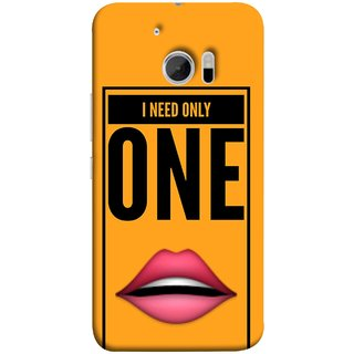 FUSON Designer Back Case Cover For HTC 10 :: HTC One M10 (Hot Girl Couples Red Lips Pinky Flying Kisses Girl Lovers)