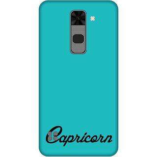 Print Opera Hard Plastic Designer Printed Phone Cover for  Lg Stylus 2 Capricorn typo