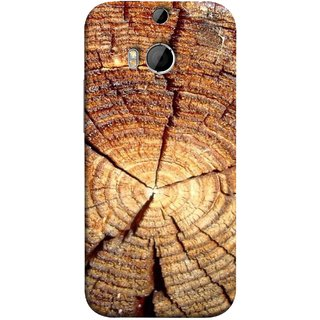 FUSON Designer Back Case Cover For HTC One M9 Plus :: HTC One M9+ :: HTC One M9+ Supreme Camera (Lot Of Cracks In Tree Wood Wild Old Tree)