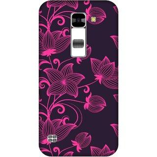 Print Opera Hard Plastic Designer Printed Phone Cover for  Lg K7 Flowers
