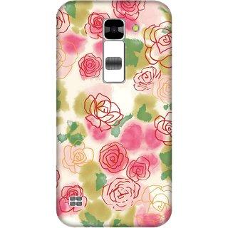 Print Opera Hard Plastic Designer Printed Phone Cover for  Lg K7 Rose Flowers
