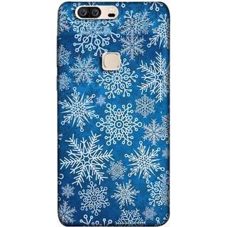FUSON Designer Back Case Cover For Huawei Honor V8 (Different Size Winter Snow Enjoying Pattern World)