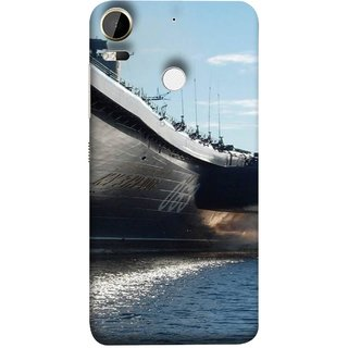 FUSON Designer Back Case Cover For HTC Desire 10 Pro (Indian Submarine Shoots Ship With Missile Training )