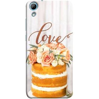 FUSON Designer Back Case Cover For HTC Desire 828 Dual Sim (Comes True Love You Forever Valentine Couples Lovers)