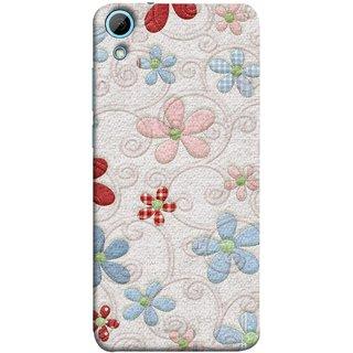 FUSON Designer Back Case Cover For HTC Desire 826 :: HTC Desire 826 Dual Sim (Nice Design Flowers Table Cloth Curtain Cloths )