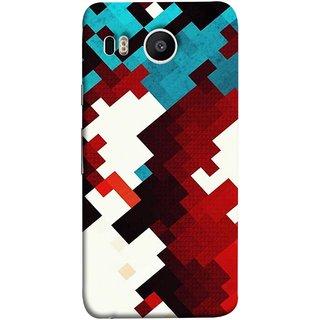 FUSON Designer Back Case Cover For LG Nexus 5X :: LG Google Nexus 5X New (Beautiful Mobile Wallpaper Bright Design Red Blue )
