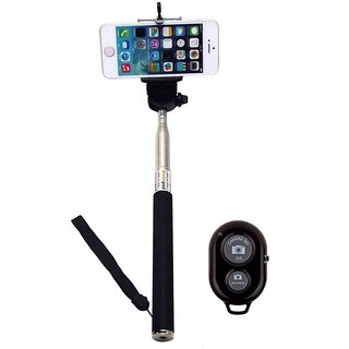City Shop Selfie Stick With Bluetooth Remote Monopod