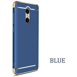 Redmi Note 4 Plain Cases ClickAway - Blue