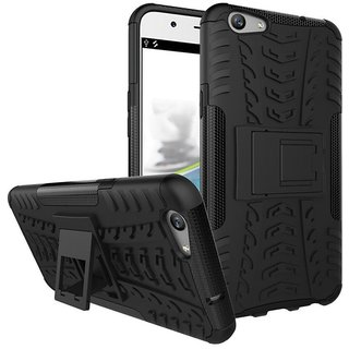 Oppo A37 Case With Stand by Colorcase - Black