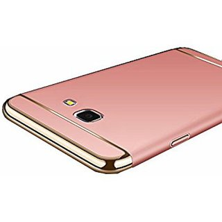 Samsung Galaxy J7 Prime Plain Cases ClickAway - Rose Gold