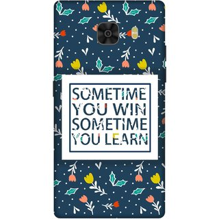 Print Opera Hard Plastic Designer Printed Phone Cover for Samsung Galaxy C9 Pro Sometimes you win sometimes you learn